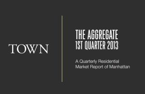 Click for the Aggregate -  A Quarterly Residential Market Report of Manhattan